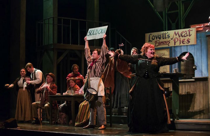 Sweeney Todd   Joshua Sanders as Tobias Ragg and Meredith Arwady as Mrs. Lovett CR James Gill