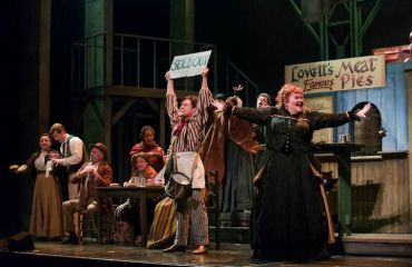 Sweeney Todd   Joshua Sanders as Tobias Ragg and Meredith Arwady as Mrs. Lovett CR James Gill