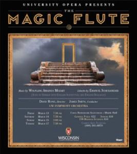 UW Magic Flute poster
