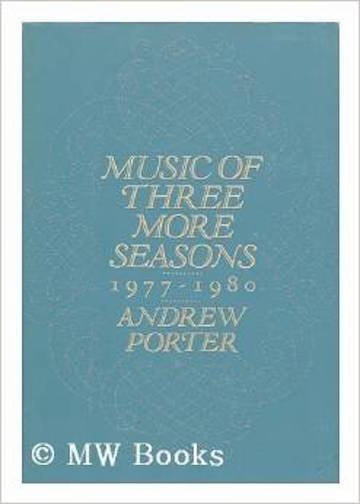 Andrew Porter book