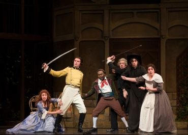 Madison Opera barber of seville cast action