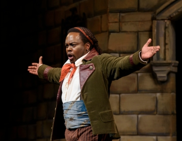 Will Liverman as Figaro, the title role