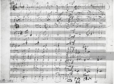 Beethoven Symphony no 7 MS