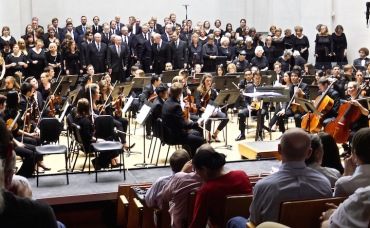 Choral Union and UW Symphony Lobgesang