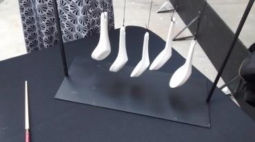 Clocks china hanging spoons