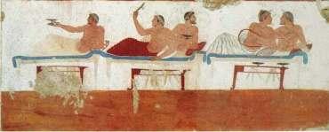 Fresco of Symposium USE