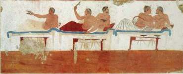 Fresco of Symposium USE