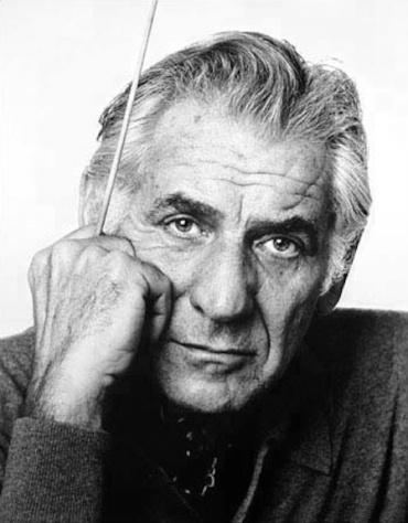 Leonard Bernstein CR Jack Mitchell