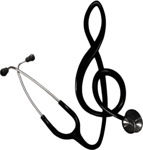 music and medicine clef