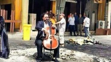 Cellist of Baghdad