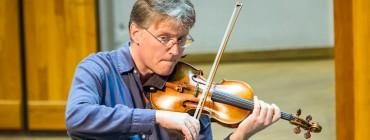 Pro Arte Quartet Rehearsal with composer Benoit Mernier