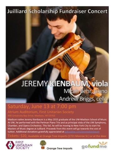 Jeremy Kienbaum poster