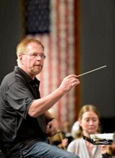Robert Olson is leaving the MahlerFest he founded at the end of this year's performances. He'll stay on as conductor of Longmont Symphony Orchestra. (Greg Lindstrom/Times-Call)