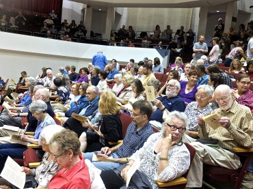 Handel Aria audience 2015