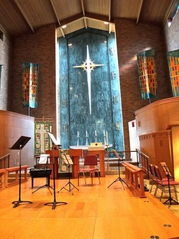 Immanuel Lutheran interior