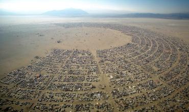 Burning Man aerial CR Kenny Reff