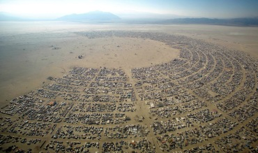 Burning Man aerial CR Kenny Reff