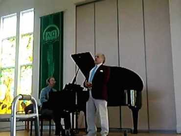 Perry Allaire singing Wagner 2009t