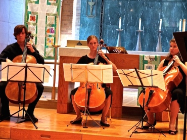 Willy Street Bach cellos