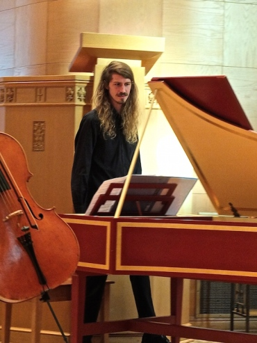 Willy Street Bach harpsichord Jason Kutz