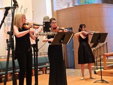 Willy Street Bach violins