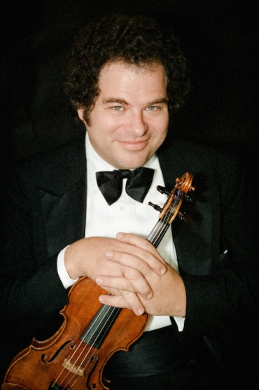 Violinist Itzhak Perlman photographed in 1984.