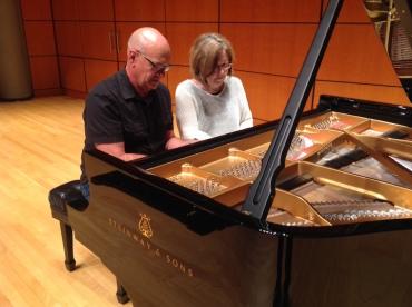 Michael Keller and Martha Thomas