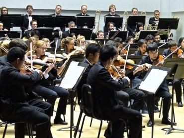 UW Symphony violins 2015