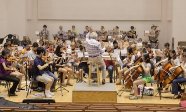 WYSO Youth Orchestra James Smith conducting 2015