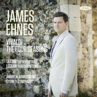 James Ehnes Four Seasons CD cover