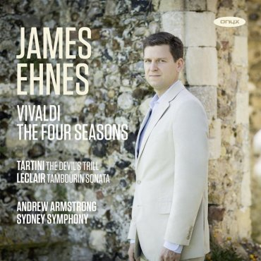 James Ehnes Four Seasons CD cover