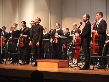 Middleton Community Orchestra strings 2015