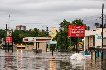AUSTIN, TX - MAY 25, 2015 Extreme flooding takes place in Austin, Texas May 25, 2015. (Photo by Drew Anthony Smith/Getty Images)