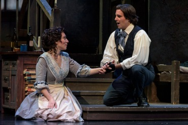 Boheme Madison Opera USE Mimi and Rodolfo GILL