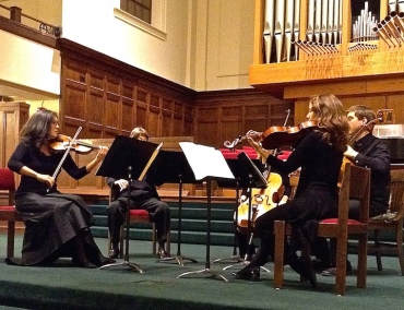 Con Vivo 2015 Brahms quintet playing
