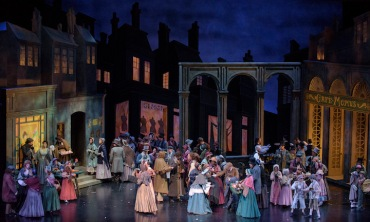 Madison Opera Boheme outdoor scene GILL