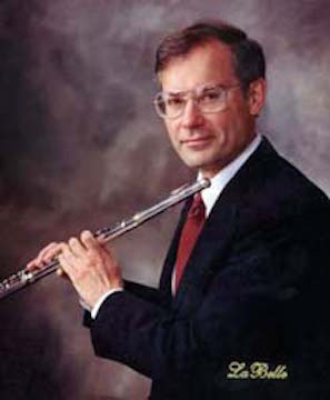 robin fellows with flute