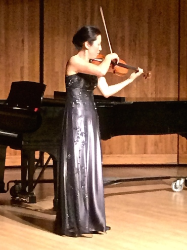 Soh-Hyun Park Altino playing solo Bach