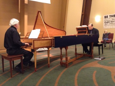 Stephenson and Alltop two harpsichords