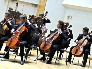 UW Symphony Strings cellos