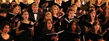 UW Choral singers