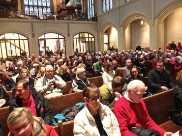 UW Winter Concert audience 2014