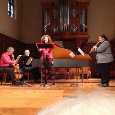 Wisconsin Baroque Ensemble Consuelo Sanuda, Monica Steger JWB