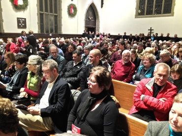 Wisconsin Chamber Choir Magnificat audience