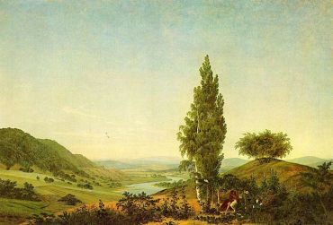 Caspar David Friedrich Summer and love couple BIG