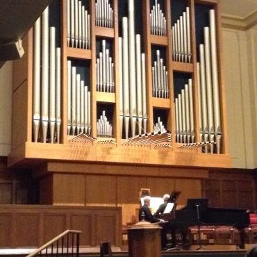 Con Vivo 2016 organ and piano