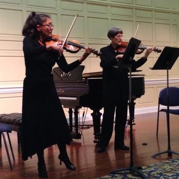 Con Vivo 2016 two violins