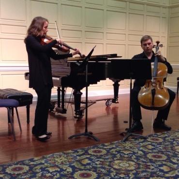 Con Vivo 2016 viola and cello