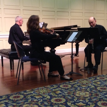 Con Vivo 2016 viola, clarinet and piano
