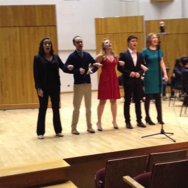 Impresario Student Opera 5 singers JWB